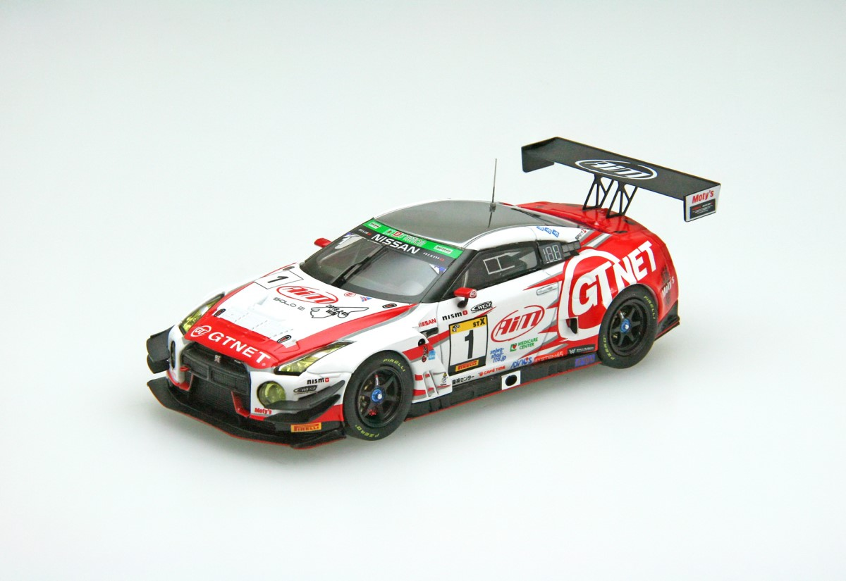 【45676】GTNET GT3 GT-R SUPER TAIKYU 2019 Fuji 24H Race Winner No.1
