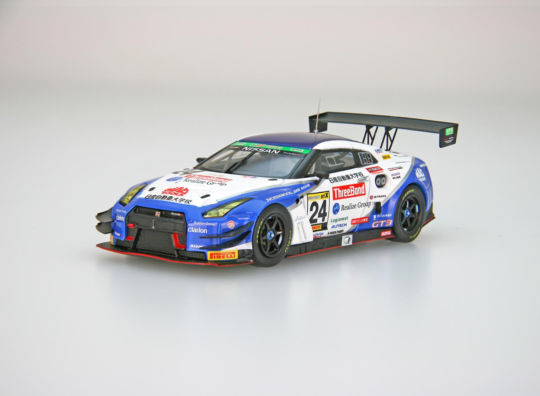 【45682】ThreeBond 日産自動車大学校 GT-R SUPER TAIKYU 2018 No.24