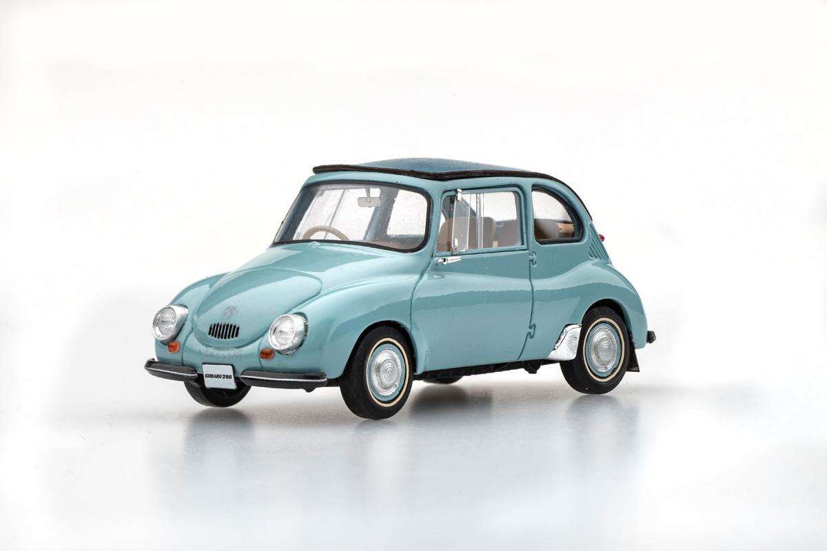 【45686】SUBARU 360 1958 (BLUE)  [RESIN]