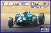 【20022】1/20 BRABHAM Honda BT18 F2 1966 Champion