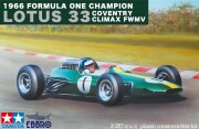 【20027】1/20 Team Lotus Type 33 1966 Formula One Champion COVENTRY CLIMAX FWMV【PLASTIC KIT】
