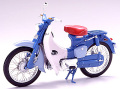 【10001】1/10 HONDA SUPER CUB 1968 (BLUE)