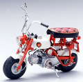 【10002】1/10 HONDA MONKEY Z50M 1968 (RED)