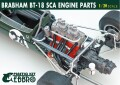 【20026】1/20 BRABHAM BT18  SCA ENGINE PARTS