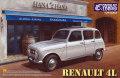 ポイント2倍!【25002】1/24 Renault 4L 【PLASTIC KIT】
