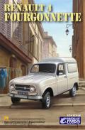 ポイント2倍!【25003】1/24 Renault 4 Fourgonnette 【PLASTIC KIT】