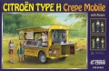 【25013】1/24 Citroen H Crepe mobile with figure 【PLASTIC KIT】