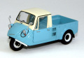 【44008】MAZDA K360 3wheel truck 1962 (LIGHT BLUE)