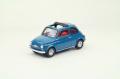 【44463】FIAT 500F 1965 (BLUE) 【RESIN】