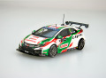 【45567】Honda Civic WTCC 2016 No.12 R.Huff [RESIN]
