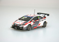 【45570】Honda Civic WTCC 2016 No.34 R.Michigami [RESIN]