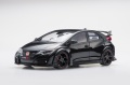 【81062】1/18 Honda CIVIC TYPE R 2015 (UK License Plate) (Crystal Black Pearl)