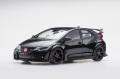 【81062】1/18 Honda CIVIC TYPE R 2015 (UK License Plate) (Crystal Black Pearl)