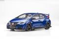 【81064】1/18 Honda CIVIC TYPE R 2015 (UK License Plate) (Brilliant Sporty Blue Metallic)