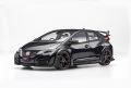 【81067】1/18 Honda CIVIC TYPE R 2015 (Japanese License Plate) (Crystal Black Pearl)