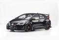 【81067】1/18 Honda CIVIC TYPE R 2015 (Japanese License Plate) (Crystal Black Pearl)