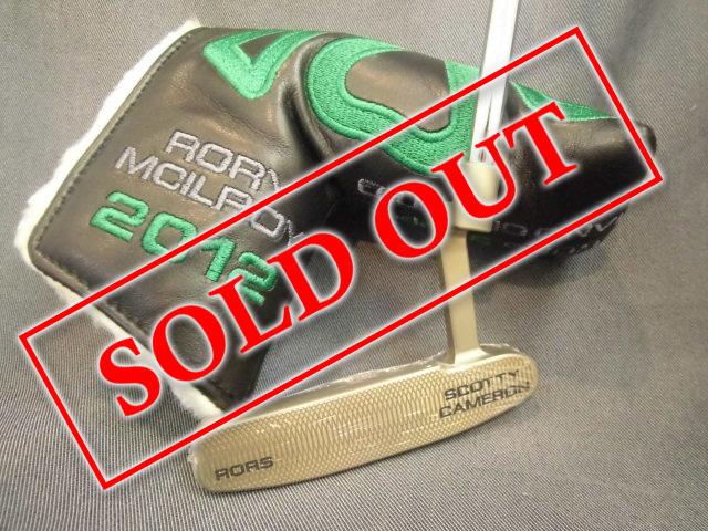 スコッティキャメロン 2011年 USオープン優勝記念モデル ロリー・マキロイ 限定989本