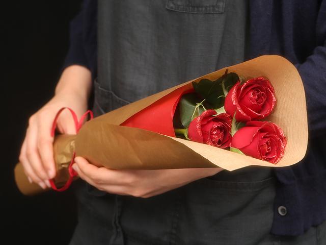3本の花束