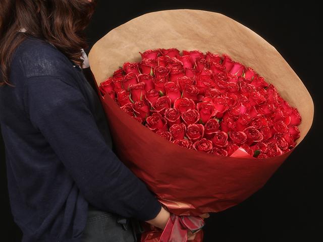 90本の花束