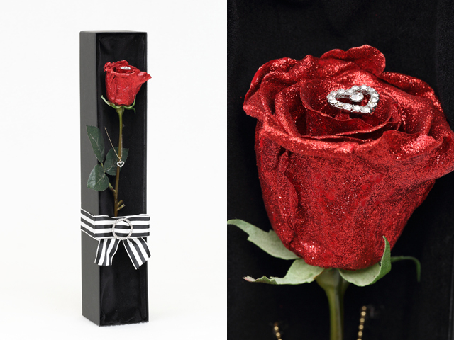 【プリザーブドフラワー】セクシーローズ~枯れない魔法の花プリザーブドフラワー|プロポーズ・誕生日・記念日にオススメのギフト【送料一律1100円(※一部地域を除く)】