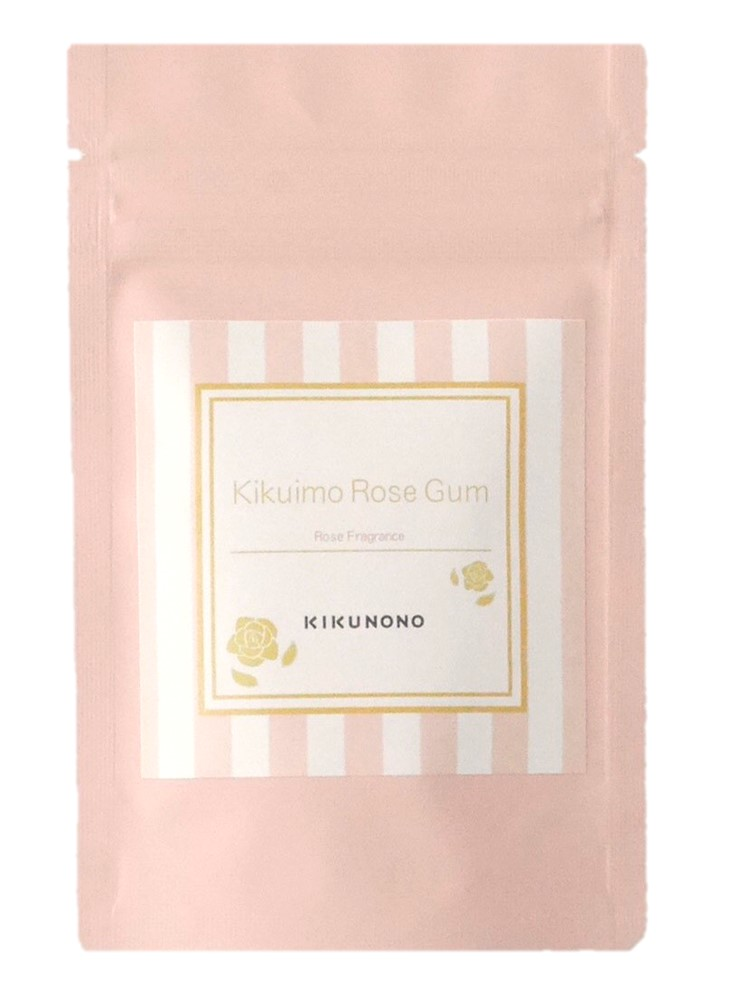 バラが香るきくいものガム【Kikuimo Rose Gum】30g