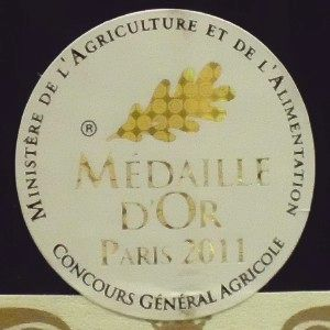 パリ・コンクール2011金メダル