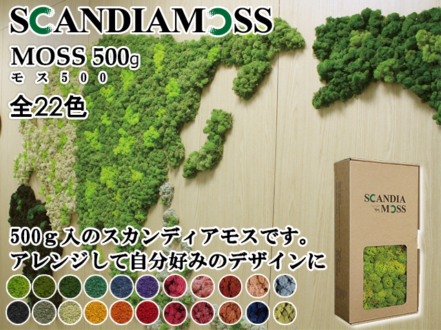 スカンディアモス|MOSS500