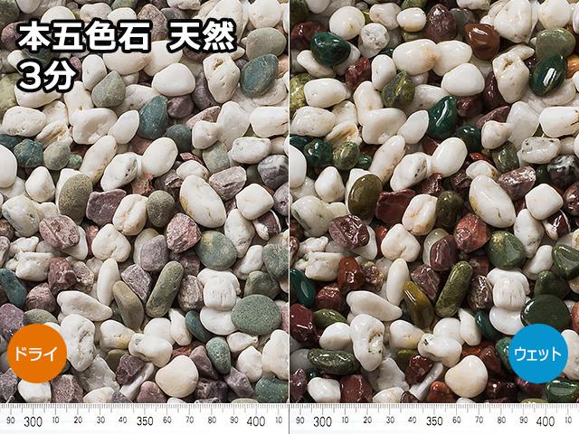 本五色石 天然(フィリピン産) 20kg 3分