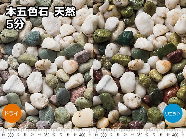 本五色石 天然(フィリピン産) 20kg 5分
