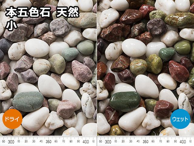 本五色石 天然(フィリピン産) 20kg 小