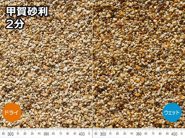 甲賀砂利(日本・滋賀県産) 20kg 2分