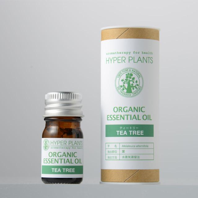 ハイパープランツ(HYPER PLANTS)オーガニックエッセンシャルオイル ティートリー【5ml】