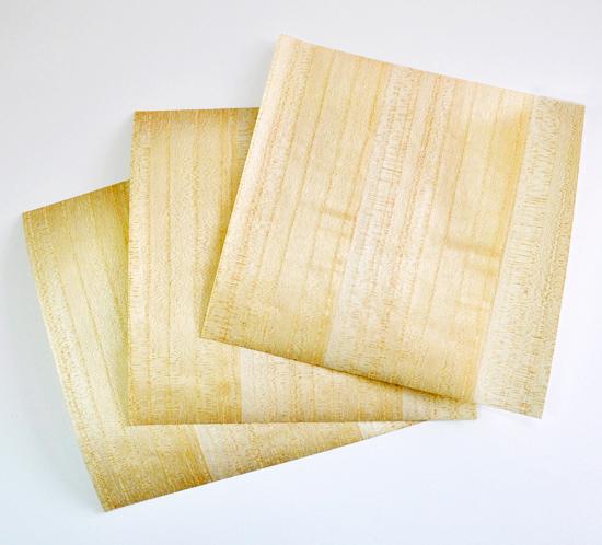 木紙 便箋3枚入り(桐)