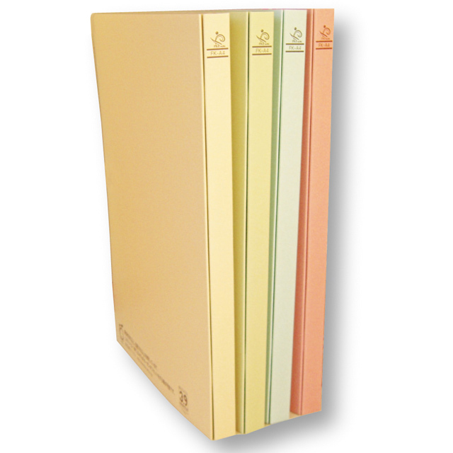 木になる紙 フラットファイル 2穴 A4・4色セット
