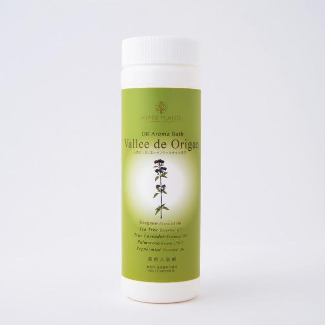 【薬用入浴剤】ハイパープランツ(HYPER PLANTS)DRアロマバス ヴァレドオリガン【500g】