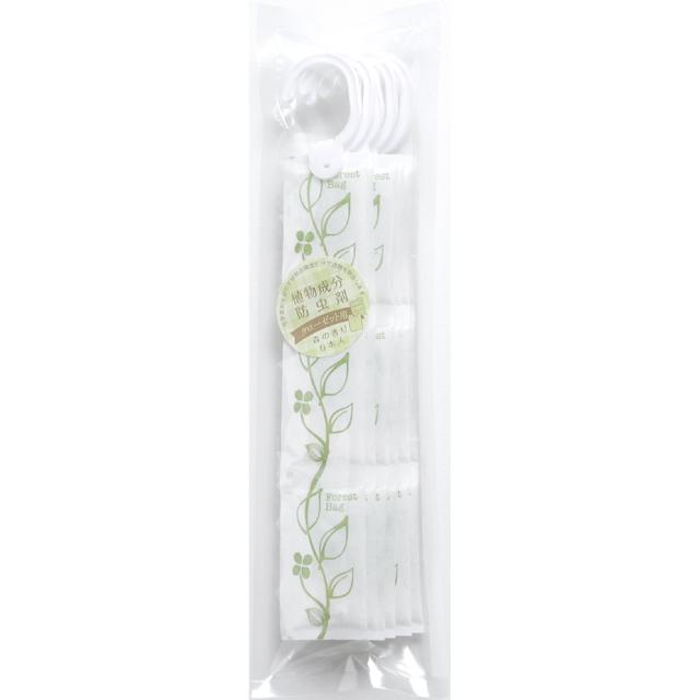 【衣類の防虫】 植物成分防虫剤クローゼット用 6本入り 森の香り 【お得用】
