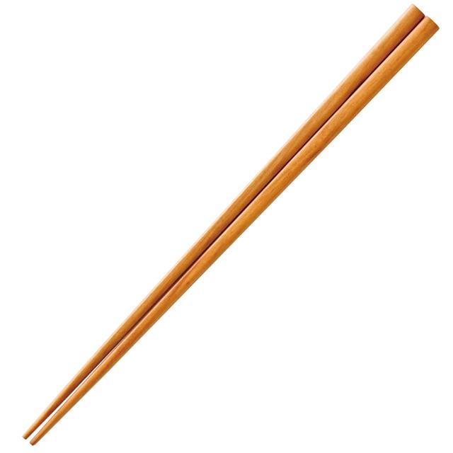 【国産材広葉樹使用】森のいろどり箸【取り箸】