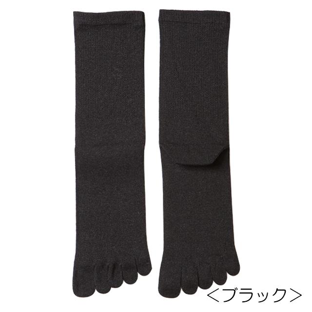 【笹からうまれた繊維】SASAWASHI ささ和紙 5本指ソックス