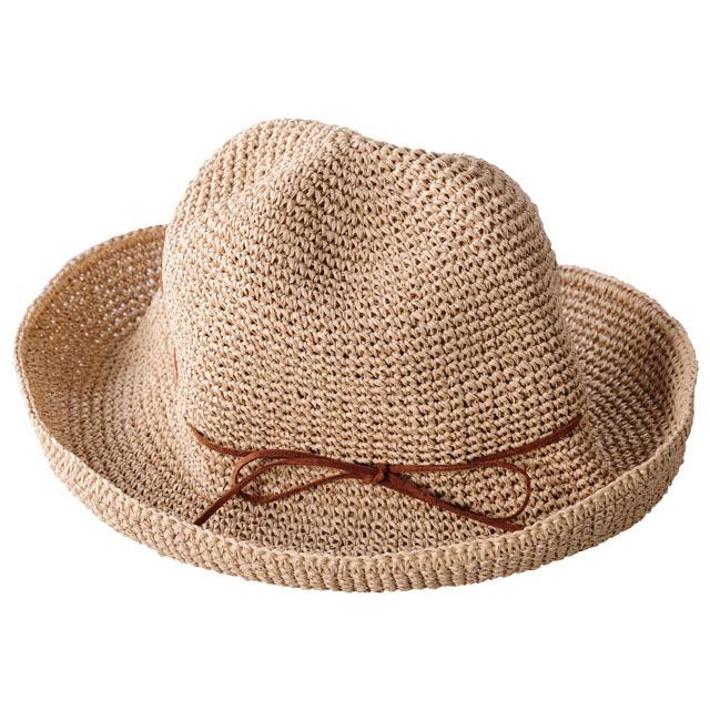 SASAWASHI ささ和紙 手編み帽子