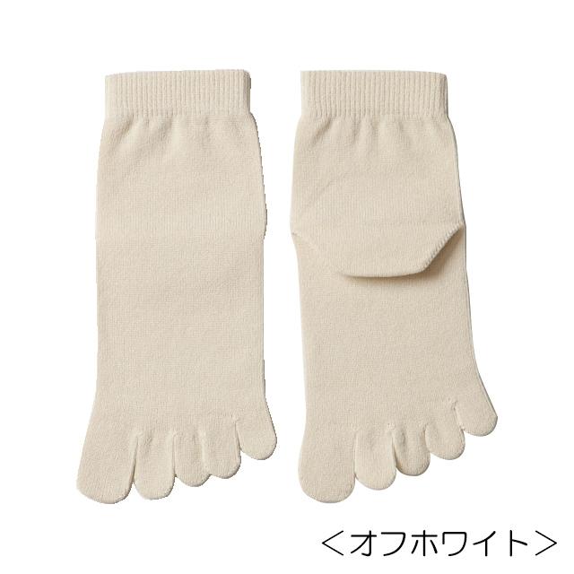 【笹からうまれた繊維】SASAWASHI ささ和紙 レディス5本指ソックス