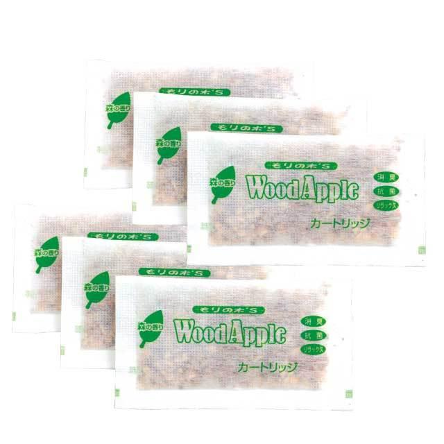 ウッドアップル 森の香り カートリッジ6個入(カードリッジのみ)