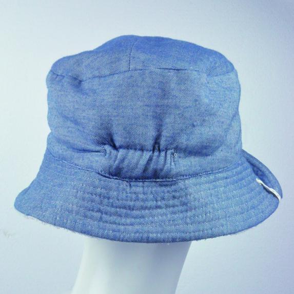 オーガニックコットン パイルの帽子リバーシブル