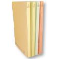 木になる紙 フラットファイル 2穴 A4/4色セット