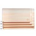 【栃木県産 ひのき間伐材使用】 薄型まな板 日光桧 S 【国産材】