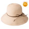 【笹からうまれた繊維】SASAWASHI ささ和紙 ブレード帽子 革紐仕様