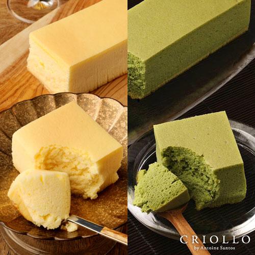 幻のチーズケーキ+抹茶チーズケーキ