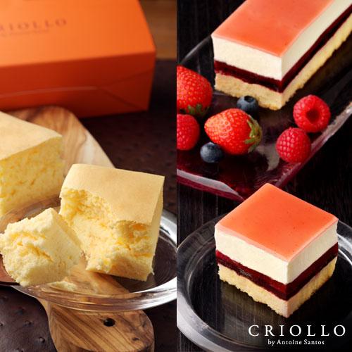 幻のチーズケーキ+レアチーズ・フリュイルージュ