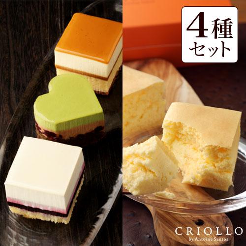 ケーキ食べ比べ4種セット