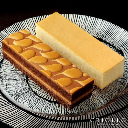 幻のチーズケーキ+キャラメルショック食べ比べセット