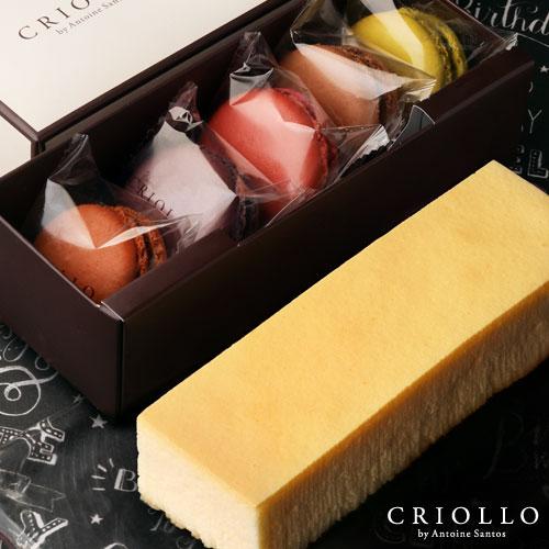 幻のチーズケーキ&マカロンセット